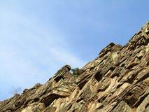 De rotsen en de Hemel Royalty-vrije Stock Afbeeldingen