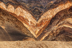 De rotsen en de stenen, bergen, ladakh modelleren Leh, Jammu & Kashmir, India Royalty-vrije Stock Foto's