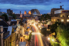 De rotsen, Sydney stock afbeelding