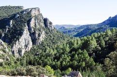 De rotsen van Amador, castellon bergen Royalty-vrije Stock Afbeelding
