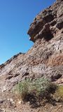 De rotsen van Arizona Royalty-vrije Stock Afbeeldingen