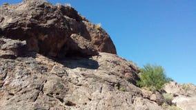 De rotsen van Arizona Royalty-vrije Stock Afbeelding