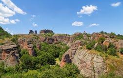 De Rotsen van Belogradchik Stock Afbeelding