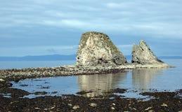 De Rotsen van Brough stock afbeelding