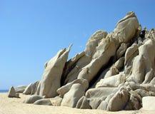 De Rotsen van Cabo San Lucas van de mysticus Royalty-vrije Stock Afbeelding