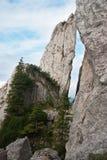 De rotsen van de berg Royalty-vrije Stock Afbeeldingen