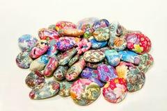 De rotsen van de kleur Stock Foto's