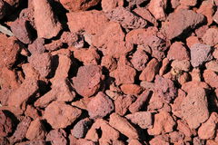 De Rotsen van de lava Stock Foto's