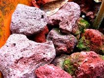 De Rotsen van de lava Royalty-vrije Stock Foto