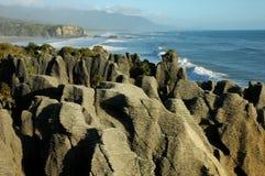 De rotsen van de pannekoek Stock Foto