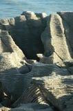 De rotsen van de pannekoek Stock Foto's