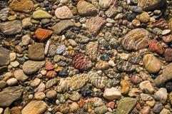 De rotsen van de rivier Royalty-vrije Stock Foto's