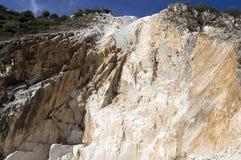 De rotsen van de steengroeve Royalty-vrije Stock Afbeeldingen