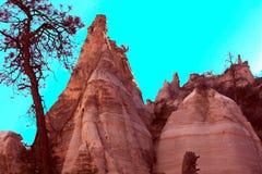 De Rotsen van de tent in New Mexico Royalty-vrije Stock Fotografie