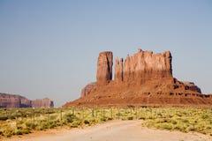 De Rotsen van de Vallei van het monument Stock Afbeeldingen