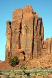 De rotsen van de Vallei van het monument Royalty-vrije Stock Foto's