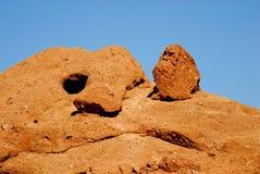 De Rotsen van de woestijn royalty-vrije stock afbeelding