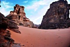 De rotsen van Dersert Stock Foto
