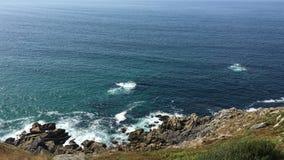 De rotsen van Galicië stock afbeelding