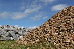 De rotsen van het basalt royalty-vrije stock fotografie