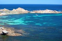 De Rotsen van het kanaal, Westelijk Australië Royalty-vrije Stock Afbeelding