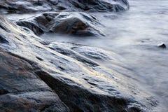 De Rotsen van het strand Royalty-vrije Stock Foto