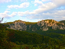 De rotsen van Sulov Stock Afbeelding