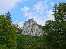 De rotsen van Sulov Royalty-vrije Stock Foto's