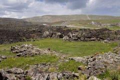 De rotsen van Vulcanic Royalty-vrije Stock Afbeeldingen