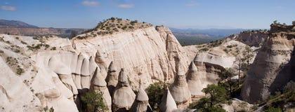 De rotsenpanorama van de tent Stock Afbeeldingen