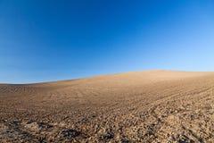 De rotsheuvel van het Landschap van Horizont royalty-vrije stock foto's