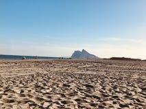 De Rotsmeningen van Gibraltar royalty-vrije stock foto's