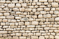 De rotsmuur van Machupicchu, Cusco, Peru, Zuid-Amerika Royalty-vrije Stock Afbeeldingen