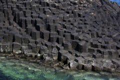 De rotsvorming van het basalt royalty-vrije stock fotografie