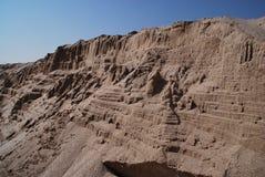 De rotsvorming van het zandsteen Stock Afbeelding