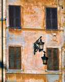 De rottende mediterrane bouw Royalty-vrije Stock Foto