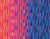 De rouge au bleu Image stock