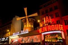 De Rouge van Moulin Stock Afbeelding