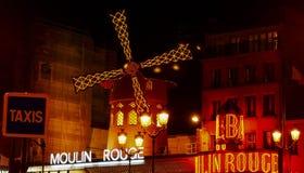De Rouge van Moulin Royalty-vrije Stock Afbeeldingen
