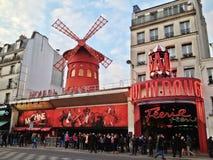 De Rouge van Moulin Stock Foto's