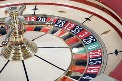 De roulette van het casino Stock Afbeelding