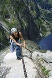 De route van bergen Stock Foto