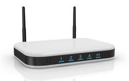 De router van de modem Stock Afbeeldingen