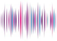 De roze achtergrond van de equaliser stock illustratie