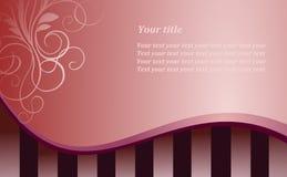 De roze achtergrond van de stijl Stock Foto's