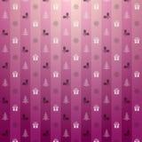 De roze achtergrond van Kerstmis Royalty-vrije Stock Afbeelding