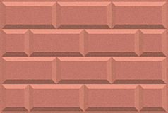 De roze artistieke achtergrond van de steenmuur met borstelpatroon Royalty-vrije Illustratie