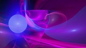 De roze blauwe achtergrond van de patroon abstracte motie vector illustratie