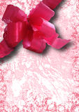 De roze collage van de lintvakantie Stock Afbeeldingen