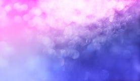 De roze en purpere achtergrond van de bokehtextuur Stock Foto's